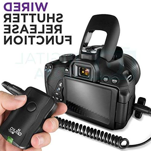 Altura with E-TTL Flash AP-C1001, Wireless Trigger and