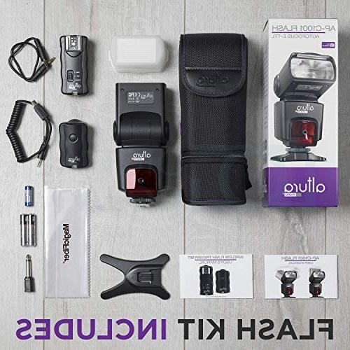 Altura Kit Canon DSLR with Flash Wireless Flash and Accessories