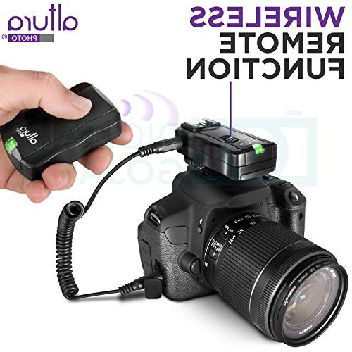 Altura Photo Studio Flash for DSLR Bundle with E-TTL Wireless Flash Trigger and Accessories