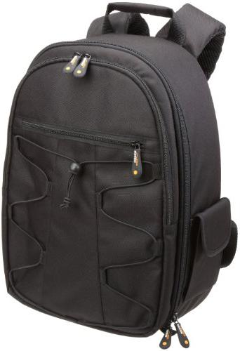 AmazonBasics Backpack for SLR/DSLR Cameras Black