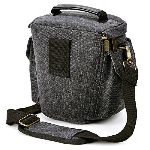 Camera Bag Evecase DSLR/SLR Carrying - Small for System, Micro 4/3, High Power Camera, Instant
