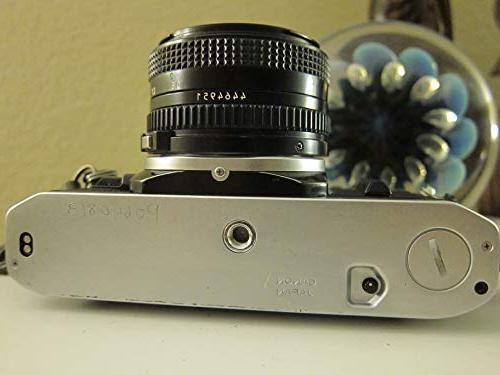 Canon Camera w/ 50mm Lens