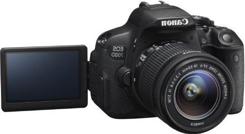 Canon EOS 700D + EF-S 18-55mm STM - Version