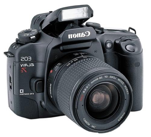 Canon EOS ELAN 7E 35mm SLR Camera Kit w/ 28-90mm Lens