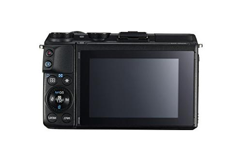 Canon EOS M3 Mirrorless Camera Kit 18-55mm Image Stabilization Lens - Enabled