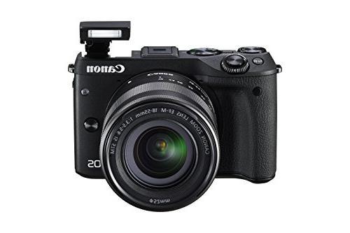 Canon Mirrorless Camera Kit EF-M 18-55mm Stabilization Lens
