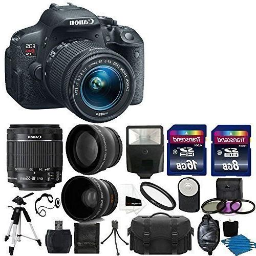 Canon EOS Rebel T5i Digital SLR Camera with EF-S 18-55mm f/3