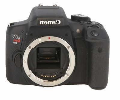 Canon EOS Rebel T6i Digital SLR  - Wi-Fi Enabled