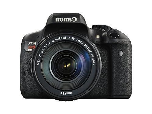 Canon EOS Rebel T6i Digital SLR with EF-S 18-135mm IS STM Le