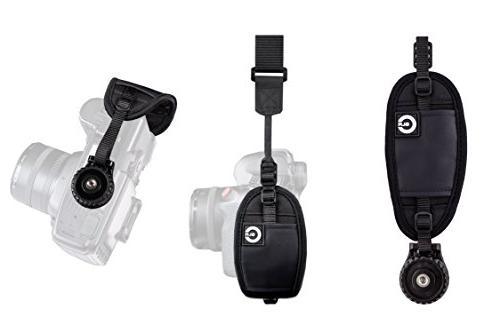 Custom SLR Camera Hand Strap with Mount - Neoprene Hand Stra