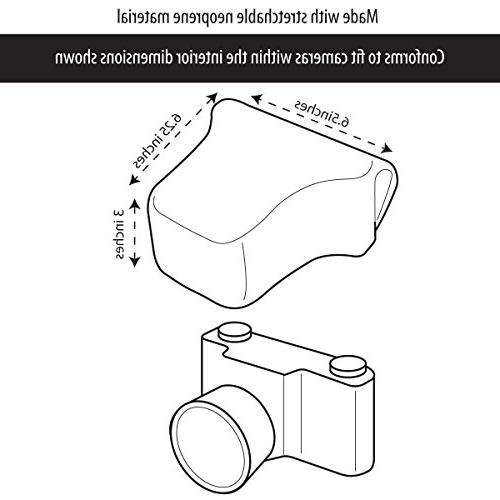 USA FlexARMOR X dSLR Camera Case Sleeve Protection from Bumps Drops Works with , D5500 D3400 and More