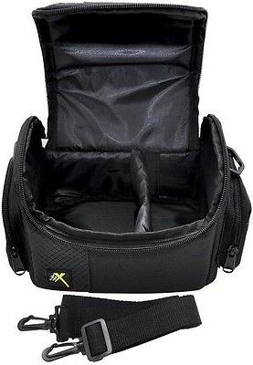Deluxe Compact Camera Case Carrying Bag For Nikon D3400 D560