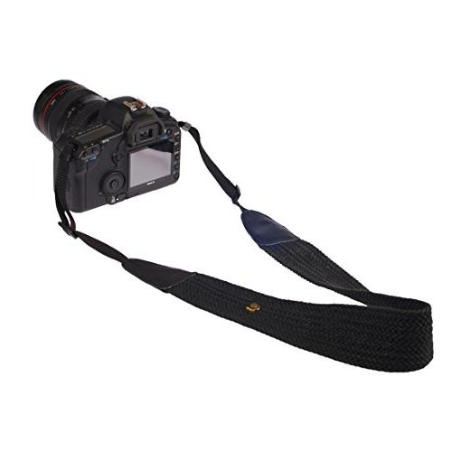 Eggsnow Camera Neck Strap Knit Broaden Camera with Connect Women Men Nikon Canon Sony Samsung Pentax