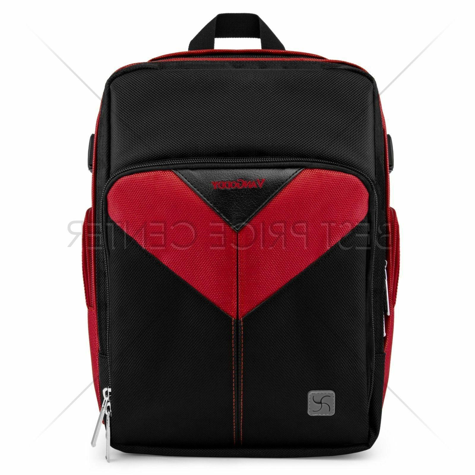 For Lytro PRO Compact Camera Backpack Bag Red