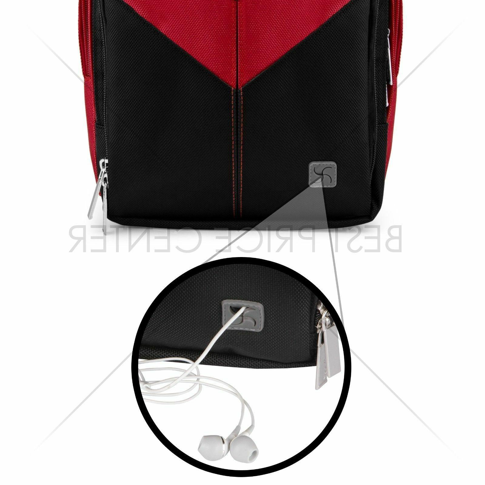 For PRO Compact Camera Backpack Red