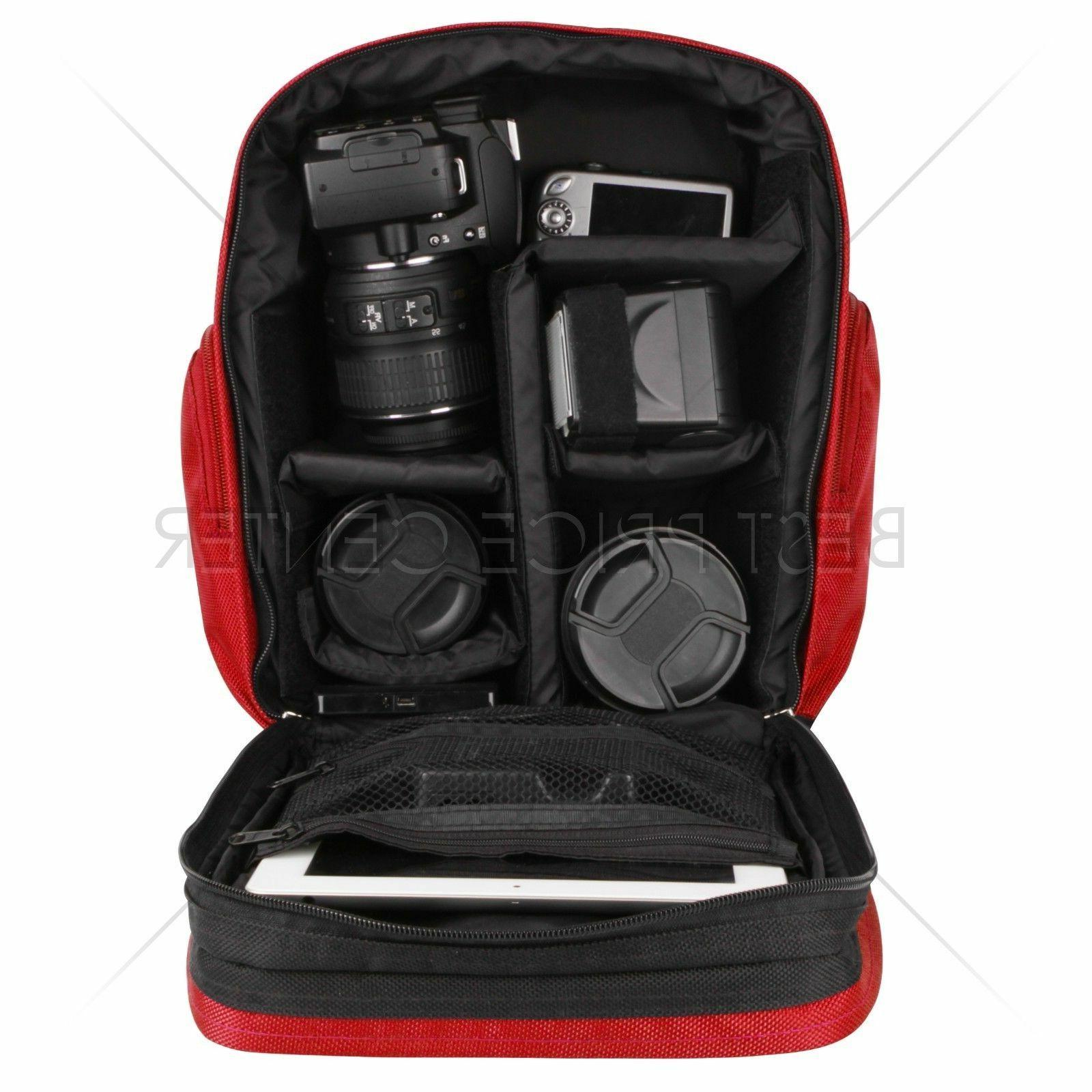 For Lytro PRO Camera Bag Case Red