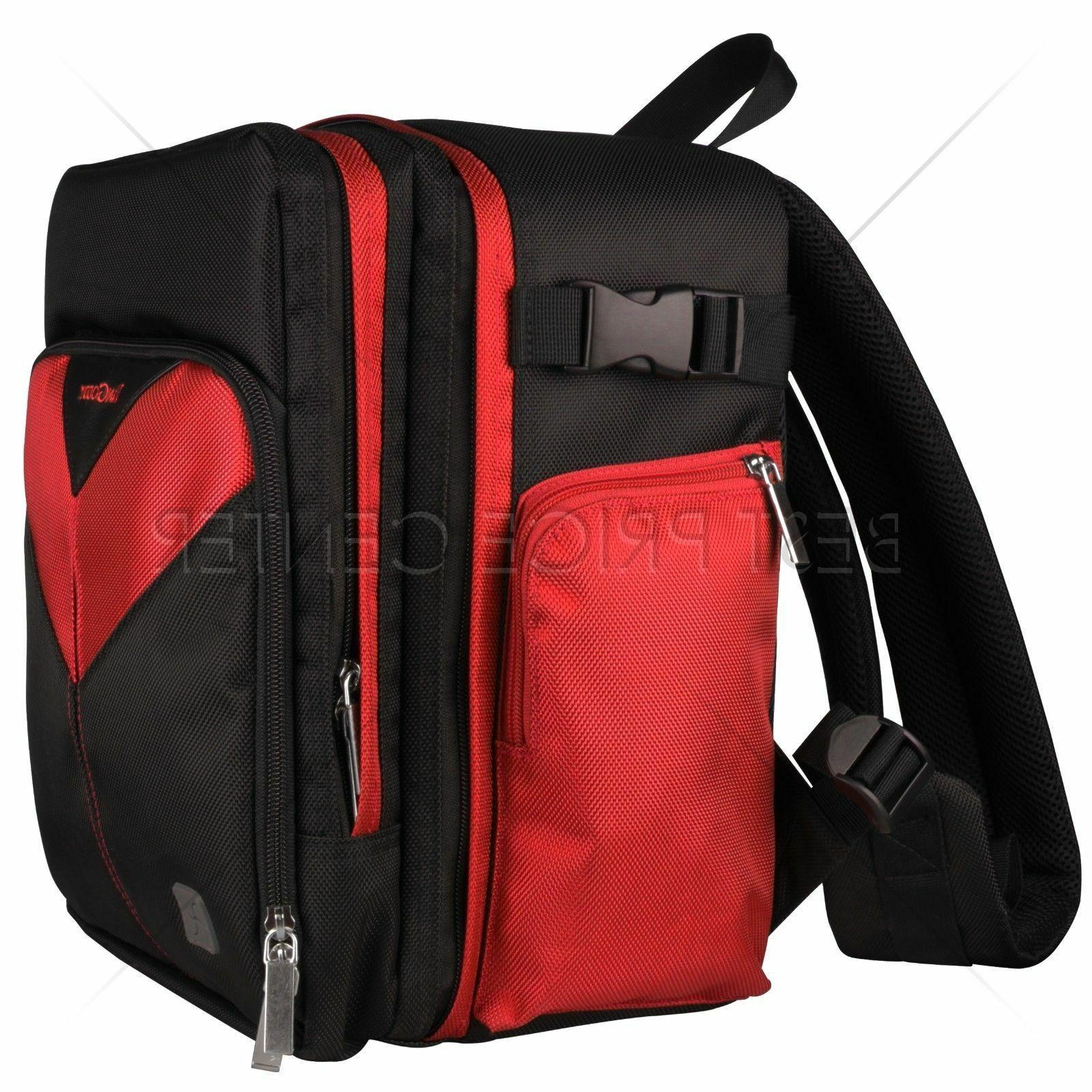 For ILLUM PRO Camera Backpack Case Red