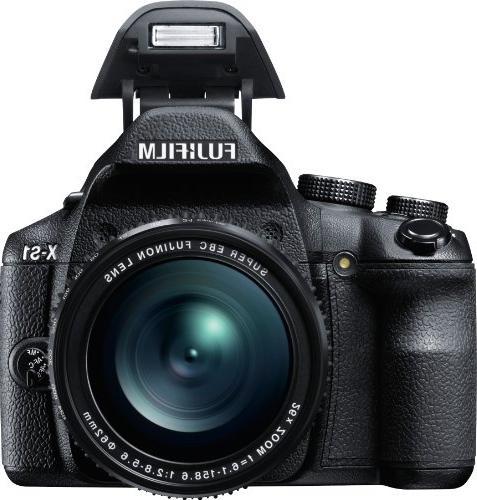 Fujifilm X-S1 12MP CMOS Fujinon F2.8 to Telephoto Lens 26x