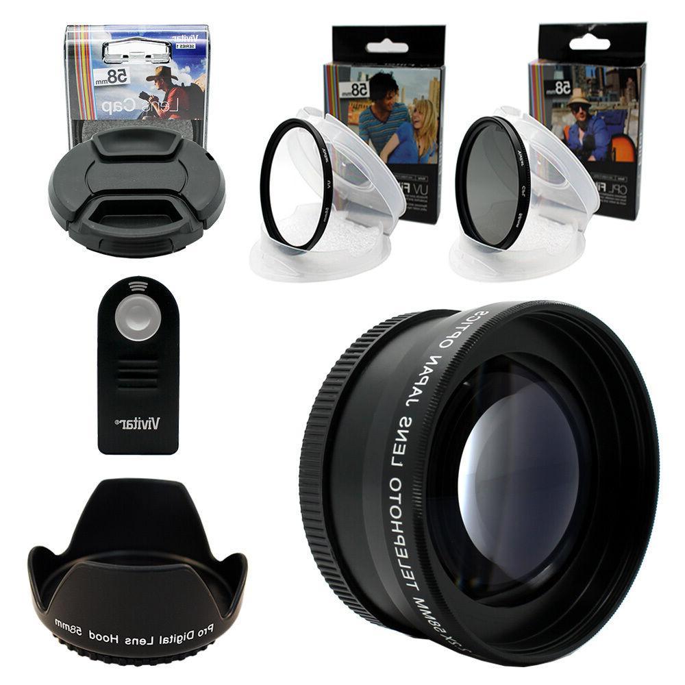 HD KIT for Canon Camera T6i T5i T3i XTi