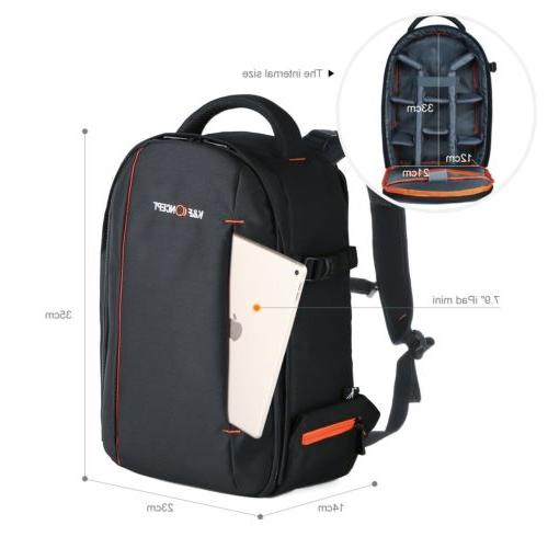 K&F SLR Camera Backpack Lightweight for