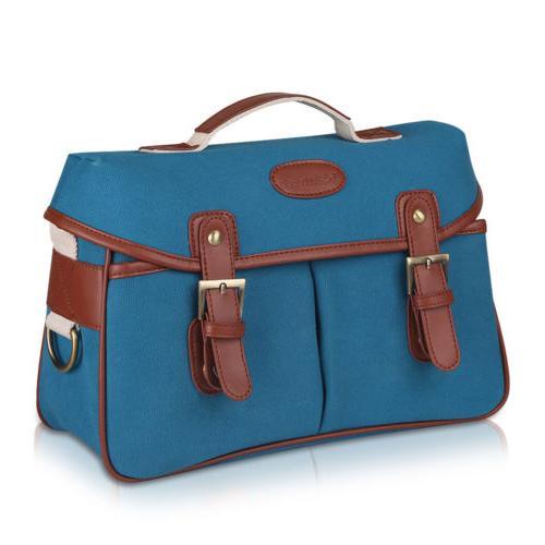 Camera Leather SLR Messenger Shoulder Bag