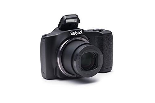 Kodak PIXPRO Friendly Zoom FZ201 16 MP Digital Camera with 2