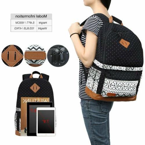 Women's Shockproof DSLR Bag Insert Travel Backpack For Nikon