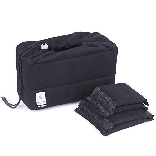 Koolertron New Shockproof DSLR SLR Camera Bag Partition Padd