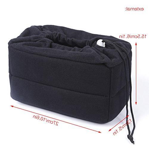 Koolertron New SLR Bag Padded Insert, Make Your Camera