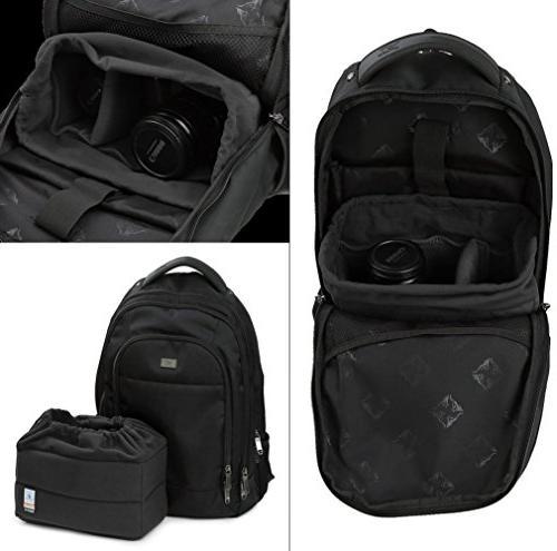 Koolertron SLR Bag Partition Padded Your Camera Bag