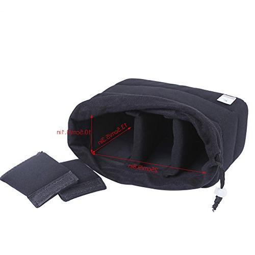 Koolertron DSLR SLR Bag Padded Camera Your