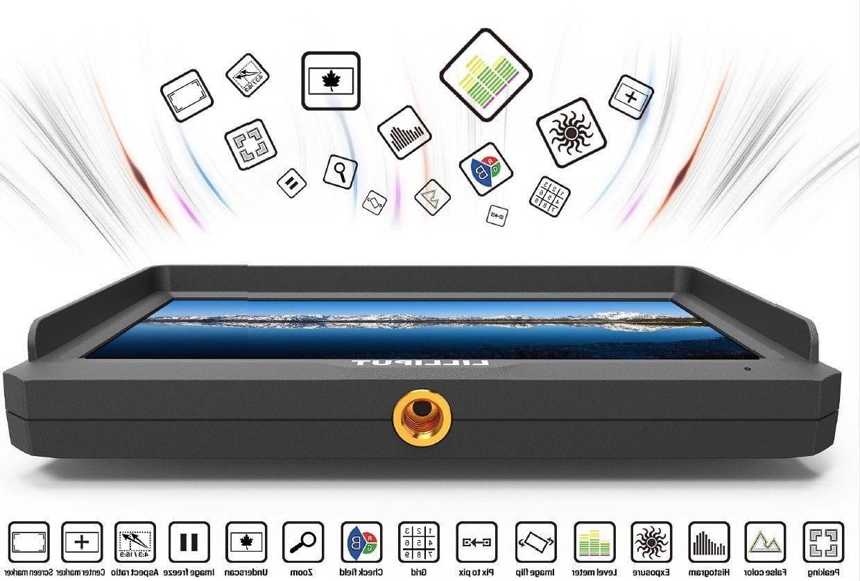 "Lilliput 5"" Camera-Top Broadcast Monitor 4K 1920x1080 for HDMI DSLR"