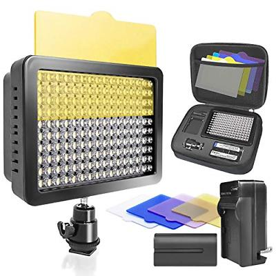 LimoStudio, Video Photo Digital Camcorder, High Value, with Color Gel, Battery, Charger,