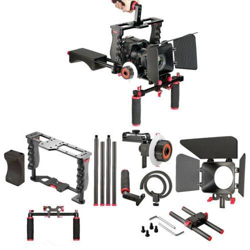 NEW Shoulder Video Film Movie Making Follow Focus Hand
