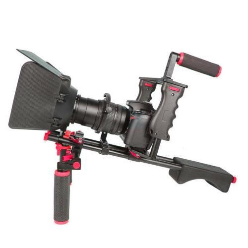NEW Video Cage Movie Making Follow Kit Hand Grip