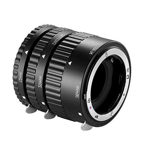 Neewer 12mm,20mm,36mm AF auto Focus ABS Extension Tubes Set