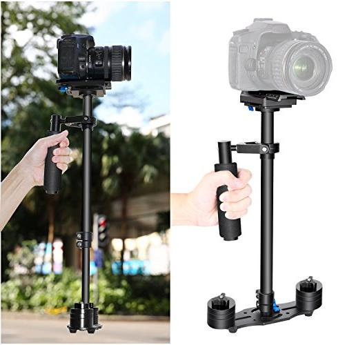 Neewer Aluminium 24 inches/60 centimeters Handheld Stabilizer with 1/4 3/8 inch Screw Quick for Canon Nikon Sony Other Camera DV pounds/3