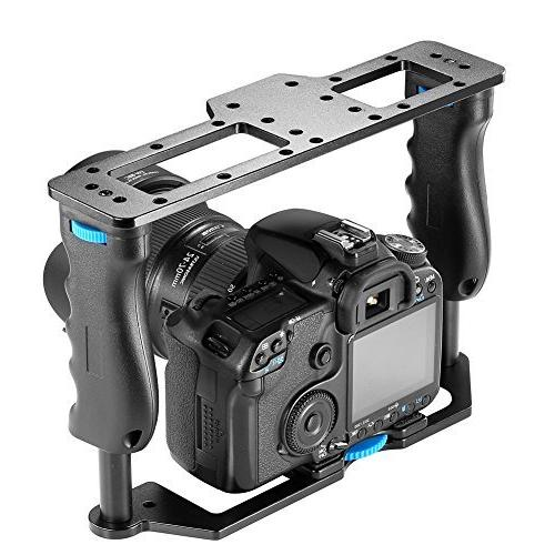 Neewer Movie Cage DSLR Cameras Such mark 650D D7000 D5000 Pentax Sony