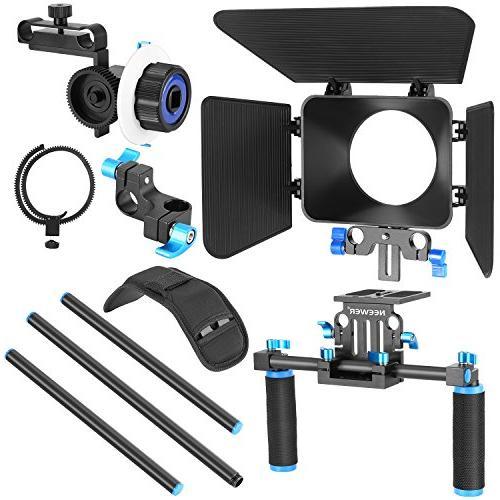 Neewer Film Movie Making Kit DSLR Video Mount,15mm Box