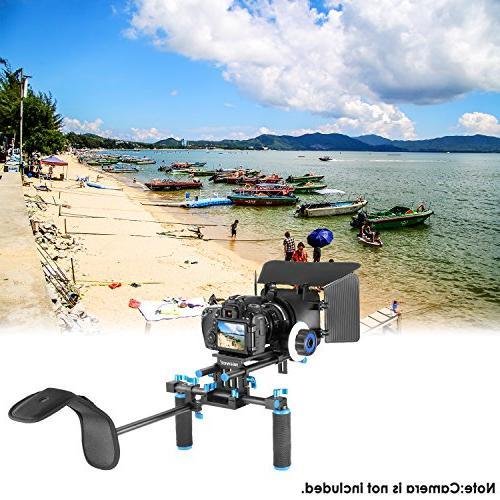 Neewer Film Making DSLR Cameras Video Camcorders,includes:Shoulder Mount,15mm Box