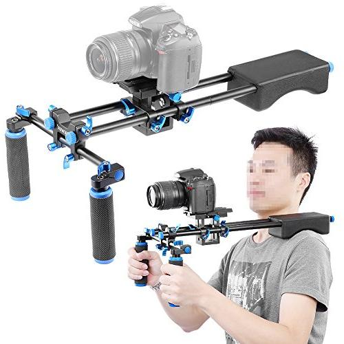 Neewer Portable With Camera/Camcorder Mount Soft and Handgrip For All and