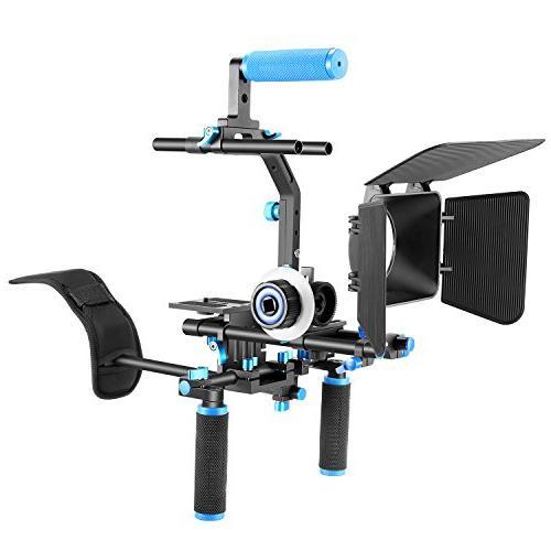 Neewer Set Kit Making System for All DSLR Video Camcorders,Include:Shoulder Bracket