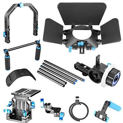 Neewer Rig Making System for DSLR Cameras and Camcorders,Include:Shoulder Focus+Matte Bracket