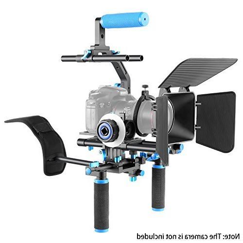 Neewer Professional Set Movie Kit Making System DSLR Cameras Video Camcorders,Include:Shoulder Bracket
