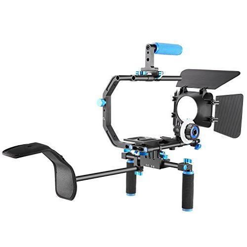 Neewer DSLR Rig Set Kit Film Making System DSLR and Camcorders,Include:Shoulder Bracket and Top