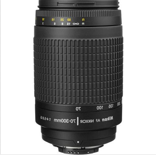 Nikon 70-300 mm f/4-5.6G Zoom Lens with Auto Focus for Nikon