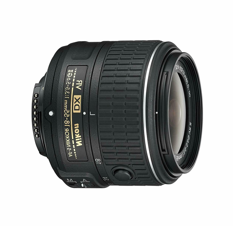 Nikon AF-S DX NIKKOR 18-55mm f/3.5-5.6G Vibration Reduction
