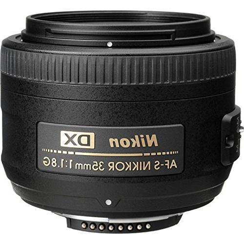 Nikon AF-S DX NIKKOR 35mm f/1.8G Lens with Auto DSLR