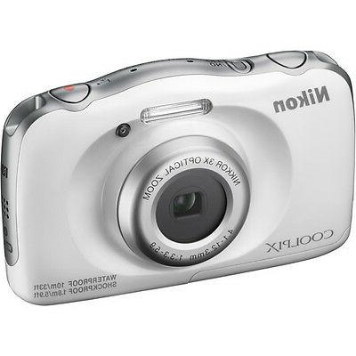Nikon Coolpix 13.2-megapixel Digital Camera - White