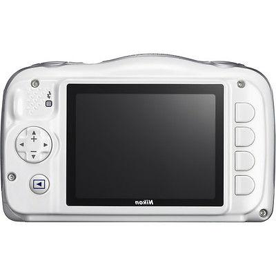 Nikon - W100 13.2-megapixel Digital Camera White